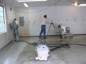Concrete Surface Prep Bainbridge Island